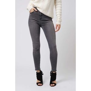 TOPSHOP Moto Jamie Jeans in Gray